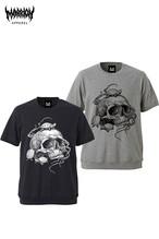 【半袖スウェット】Turtle&Skull Tee(全4カラー)