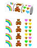 Beary Cute 3-roll Sticker Gift Box