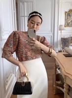 ココラメミックスボリュームニット ニット セーター 韓国ファッション