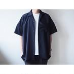 BASISBROEK(バシスブルック) 『DEED』Oversize Open Collar Shirt