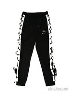 【chi che ro】Power S/L Jogger P/T Black