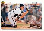 MLBカード 92UPPERDECK Steve Decker #173 GIANTS