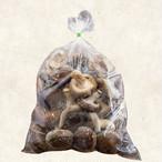 長生き椎茸『無選別』1kgパック