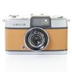 テスト用フィルム1本&現像代込み!F3.5 28mm PEN  OLYMPUS オリンパスペン [ライトブラウン] ハーフ コンパクト 中古フィルムカメラ