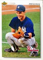 MLBカード 92UPPERDECK Jim Leyritz #117 YANKEES