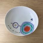 【有田焼】花車 楕円浅鉢