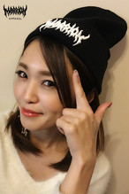 Death Marrion Beanie (Black×White)