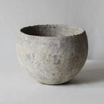 椀型白錆鉢(M)