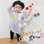 【即納商品】 風船プリント ロングT co048