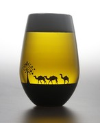 夕日を眺めるグラス〜ラクダ〜       *丸モ高木陶器* お酒をより楽しむためのおしゃれな酒器!