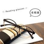 老眼鏡 おしゃれ メンズ レディース シニアグラス 4-480 リーディンググラス スマホ老眼鏡 44480 バネ蝶番 オーバル型