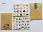 なつかしの学校シールセット BBオリジナルパッケージ