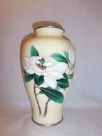 安藤七宝花籠 Ando cloisonne enamel vase