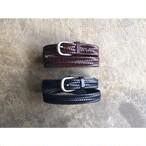 Hawk Company (ホークカンパニー) Bonded Leather Mesh Belt
