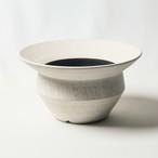 Wide rim cylinder pot(sand scape)