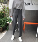 【新作10%off】casual feminine slacks 3243