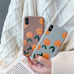 【オーダー商品】 Korean orange ihone case