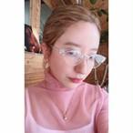 MEME clear cat sunglasses