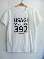 USAGI T-shirts WH ウサギTシャツ ホワイト