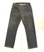 "70's Levi's 501 BLACK ""MADE IN USA"" <Used>"