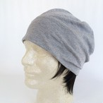 つけ毛付き:wig/ショート/薄手ニット帽子(裏シルク) 6色 フリー M~L 男女兼用