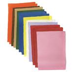 色和紙のセット全11色17枚