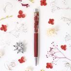 ハーバリウムボールペン『深紅』