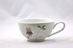 フクロウ スープカップ