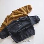 秋冬新作 ゆるイラスト裏ポカ プルオーバー (80-100)韓国子供服