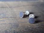 朔 silver earrings