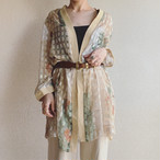 vintage see-through haori