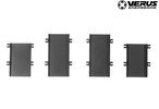 VERUS ENGINEERING(VELOX):A0051A-BLK:TOYOTA 86(ZN6) / SUBARU BRZ(ZC6):フードルーバーレインガードキット
