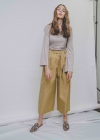Ribon Wide Pants