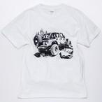 CAMPSオリジナルTシャツ【Jeep ラングラー】フロントP