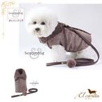 7。Bonyndog【正規輸入】犬 服 ハーネス リード コート 秋 冬物