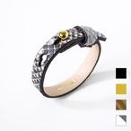 Python Leather Bracelet リアルパイソンブレスレット