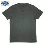 NS002006 USA COTTON CREW NECK Tee / CHARCOAL