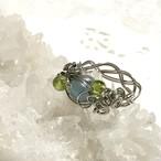 【3月誕生石】アクアマリンの指輪