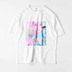 We wish peace ビッグシルエットTシャツ(ホワイト・ブラック)/ Mens