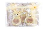 【焼き菓子ギフト】ねこちゃんクッキーギフトセット(10枚入)/人気の可愛い卵不使用のねこちゃん型クッキーの詰め合わせとなります。ちょっとした贈り物にも最適です。