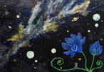 【イラスト・オルゴナイト】Space Lotus
