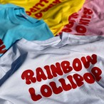 RAINBOW LOLLIPOP LOGO T-シャツ