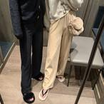 ベルベットコーデュロイワイドパンツ ワイドパンツ コーデュロイ 韓国ファッション