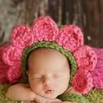 【即納】【ベビーコスプレ】 赤ちゃん 衣装 仮装 コスチューム【フラワーレッド】 S661
