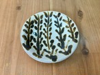 皿5寸小枝 ノモ陶器製作所