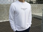 ThreeArrows Message スウェット(white)