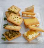 6個入り!!ピスタチオのバターサンド & パイナップルクリームチーズのバターサンド BOX