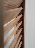 ルーバーウエスタンドア・スイングドア  ドア長さ(高さ)130~159cm 標準塗装