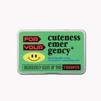 「EMERGENCY」小物入れ缶ケース