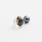 MAYU/PEARL RIVETS Black Pearl Initial,10mm Catch F